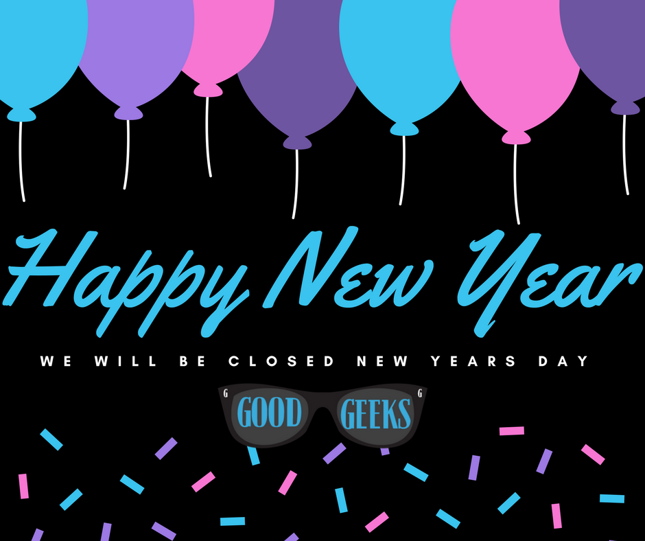 Thank you and happy new year from the good geeks