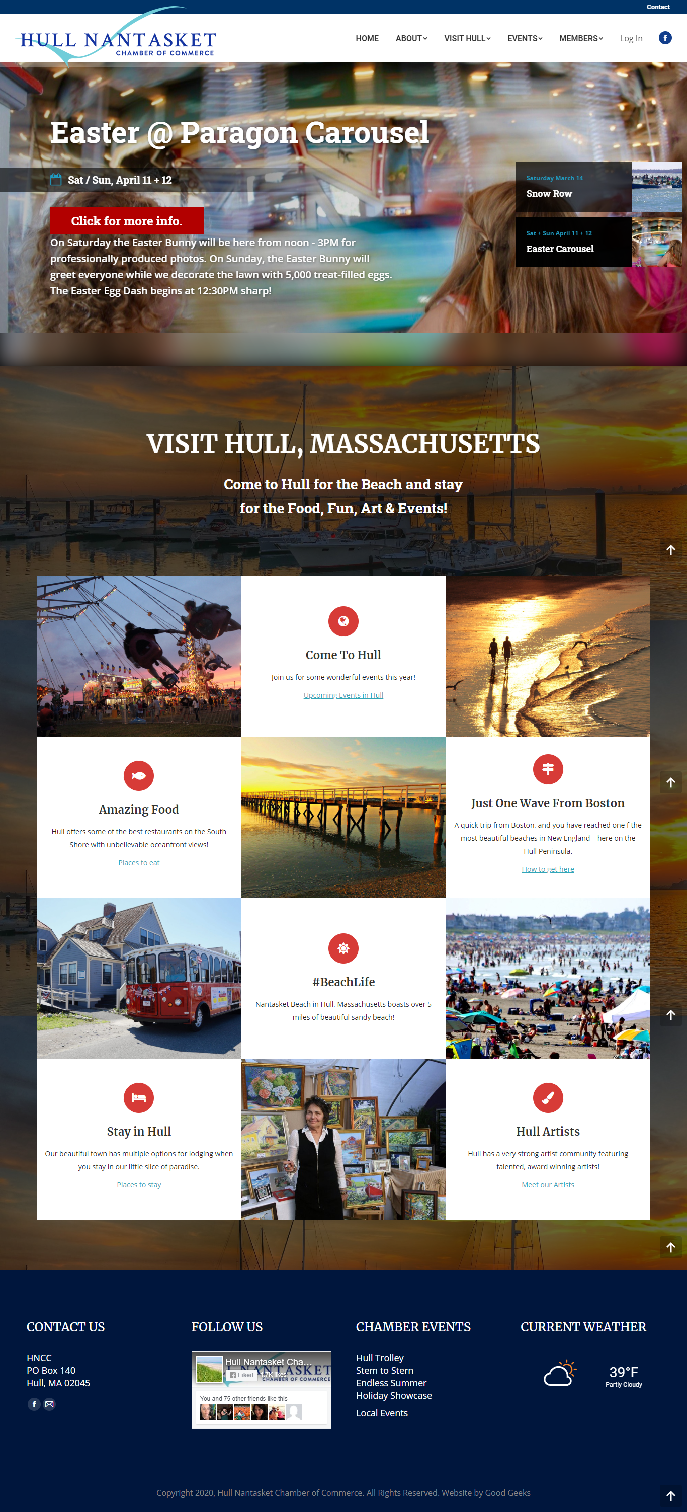 Hull Nantasket Chamber of Commerce Home Page
